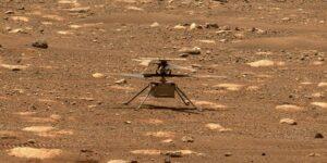 La NASA planea llevar al helicóptero Ingenuity a sus límites, incluso si se estrella