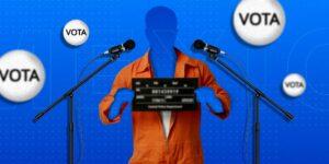 ¿Por qué se puede hacer campaña electoral desde la cárcel?