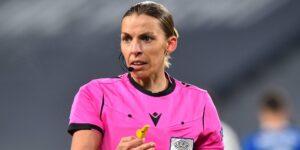 Stephanie Frappart se convertirá en la primera árbitra en una Eurocopa varonil