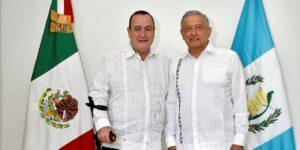 El presidente de Guatemala, Alejandro Giammattei, visitará México la próxima semana, anunció AMLO —el tema de la migración podría estar en la agenda