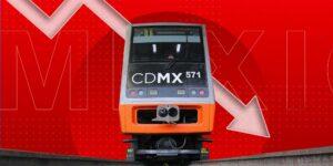 El gobierno de la CDMX disminuyó en 571 millones de pesos el presupuesto del metro en 2021