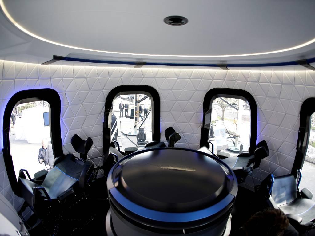 Blue Origin subasta
