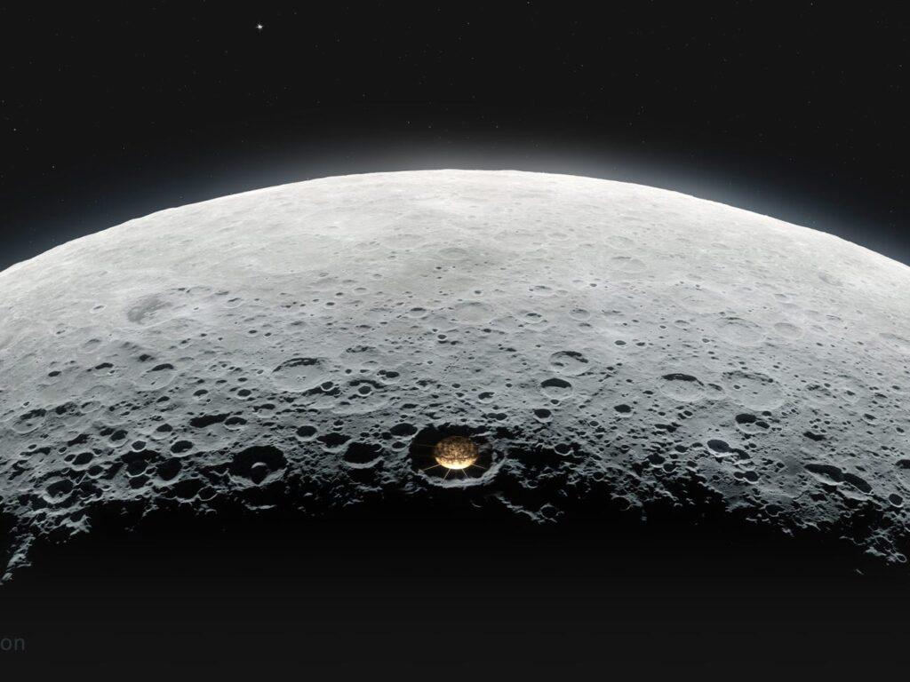 NASA telescopio Luna