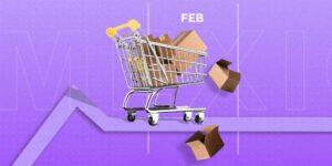 La recuperación del consumo en México se estanca en febrero; se desploma 14% la compra de servicios