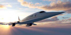 El Boom Supersonic, un avión supersónico, puede volar cualquier parte del mundo en 4 horas