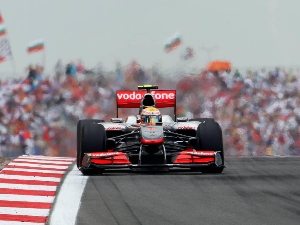 McLaren Hamilton