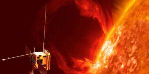 Una nave espacial captura un video de una erupción de plasma masiva en la superficie solar por primera vez