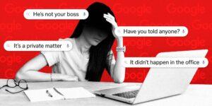Google desestima la denuncia de acoso sexual de una exempleada contra un colega, al decir que ocurrió fuera de la oficina