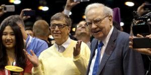 Bill Gates y Warren Buffett comprometieron a millonarios a donar la mitad de su riqueza. Esto avanza lentamente, mientras algunos pagan menos impuestos.
