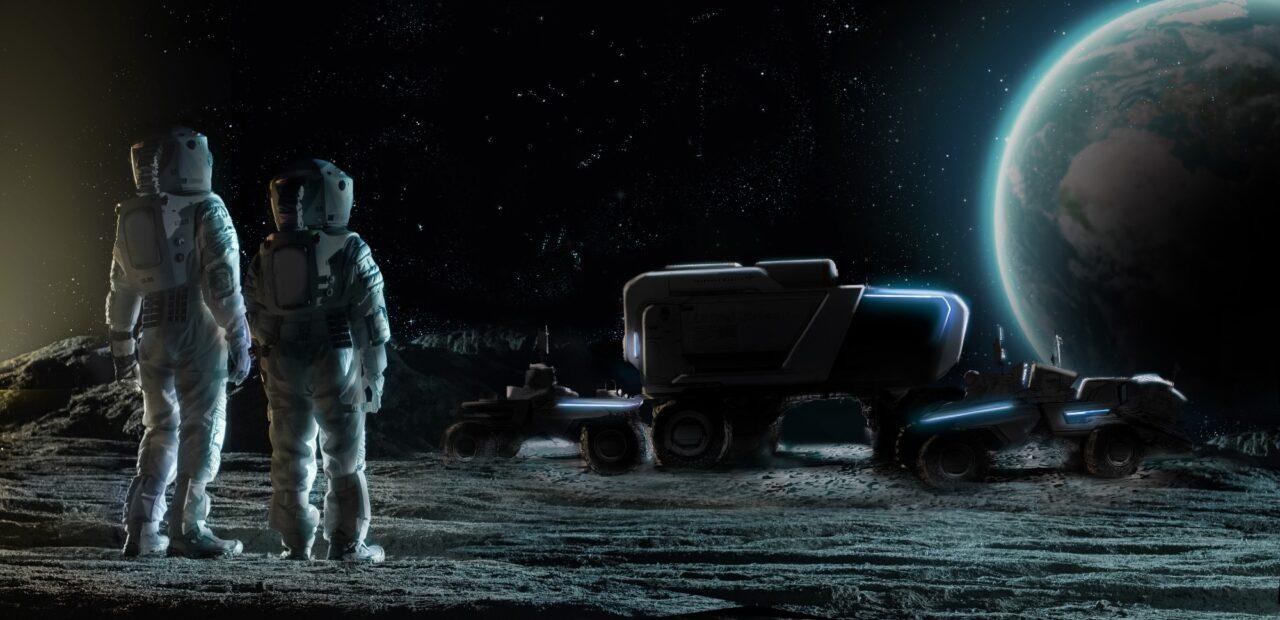 vehículo lunar