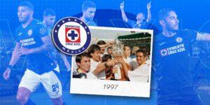 Así era la vida en 1997, cuando el Cruz Azul ganó su último título en la primera división del futbol mexicano
