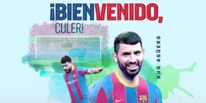 """Sergio """"Kun"""" Agüero será el nuevo jugador del FC Barcelona"""