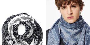 Louis Vuitton enfrenta una reacción violenta por vender una bufanda inspirada en la keffiyeh palestina tradicional
