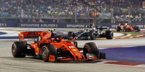 El GP de Singapur de la F1 se cancela por motivos de seguridad relacionados con la pandemia del Covid-19