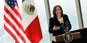Kamala Harris considera haber alcanzado acuerdos «tangibles y específicos» durante su primera visita oficial a México