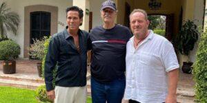 El actor Roberto Palazuelos se asocia con el expresidente de México, Vicente Fox, en la empresa de cannabis Paradise