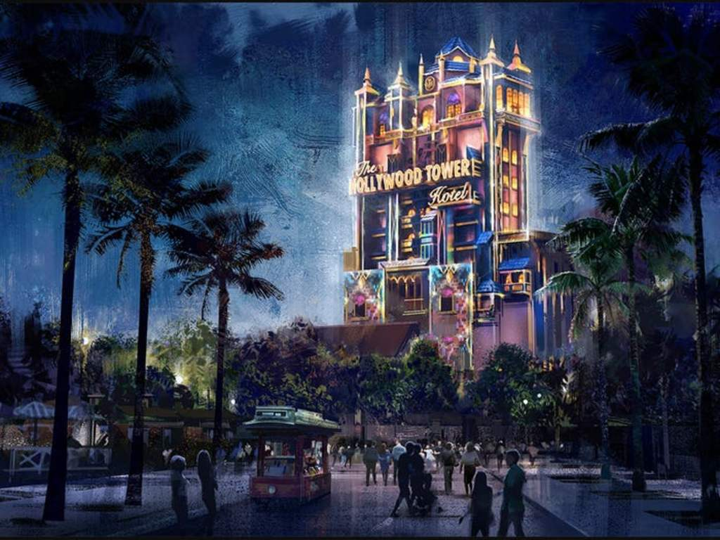 Tower of Terror y Spaceship Earth