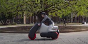 Estos científicos japoneses apuestan por los vehículos inflables como el futuro de la movilidad