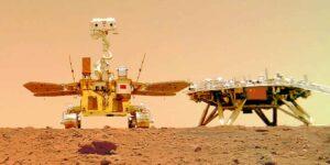 China publica los primeros videos de su rover en Marte —incluyen el espeluznante sonido que hace mientras baja por una rampa