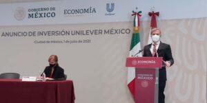 Unilever anuncia inversión de 5,500 millones de pesos  para 2021 a 2024