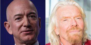 El multimillonario Richard Branson buscará volar al borde del espacio el 11 de julio, superando por poco a Jeff Bezos