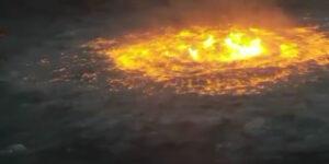 Este es el incendio que causó el 'ojo del infierno' en el Golfo de México por una fractura en un ducto de Pemex