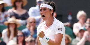 Ons Jabeur se convierte en la primera tenista árabe en llegar a los cuartos de final en Wimbledon