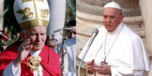 El papa Juan Pablo II y el papa Francisco fueron atendidos en el mismo hospital, pero han tenido diferentes grados de privacidad médica