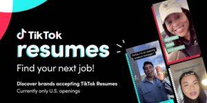 TikTok quiere ser el LinkedIn de la Generación Z— lanza TikTok Resumes para aplicaciones de trabajo en video