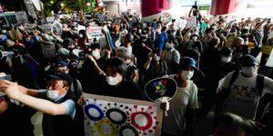 «Vete al infierno, COI»: manifestantes japoneses se pronunciaron contra los Tokio 2020