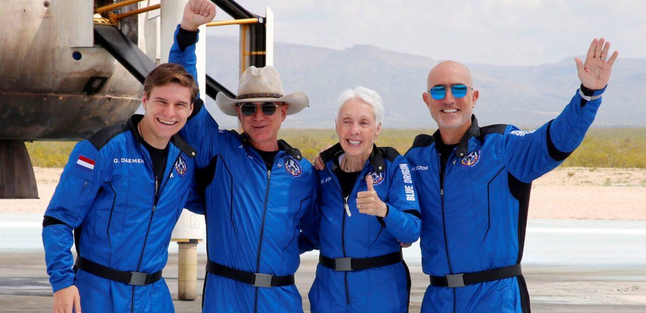 viaje al espacio amazon | Business Insider Mexico
