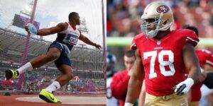Los lanzadores de disco son más fuertes que 99% de los jugadores de la NFL, según un atleta olímpico que practica ambos deportes