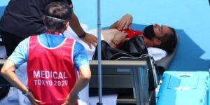 Hace tanto calor en Tokio que el tenista Daniil Medvedev preguntó a los oficiales olímpicos si asumirían la responsabilidad si moría en la cancha