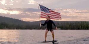 El patinaje en agua es la última moda de la élite de Silicon Valley— Mark Zuckerberg y Larry Page son fans