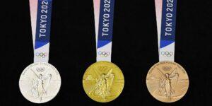 Las medallas olímpicas de Tokio 2020 se hicieron con 78,985 toneladas de dispositivos electrónicos reciclados —incluyendo teléfonos celulares