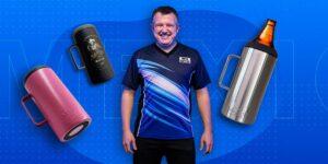 Portacaguamón: la apuesta de un emprendedor para tomar cerveza