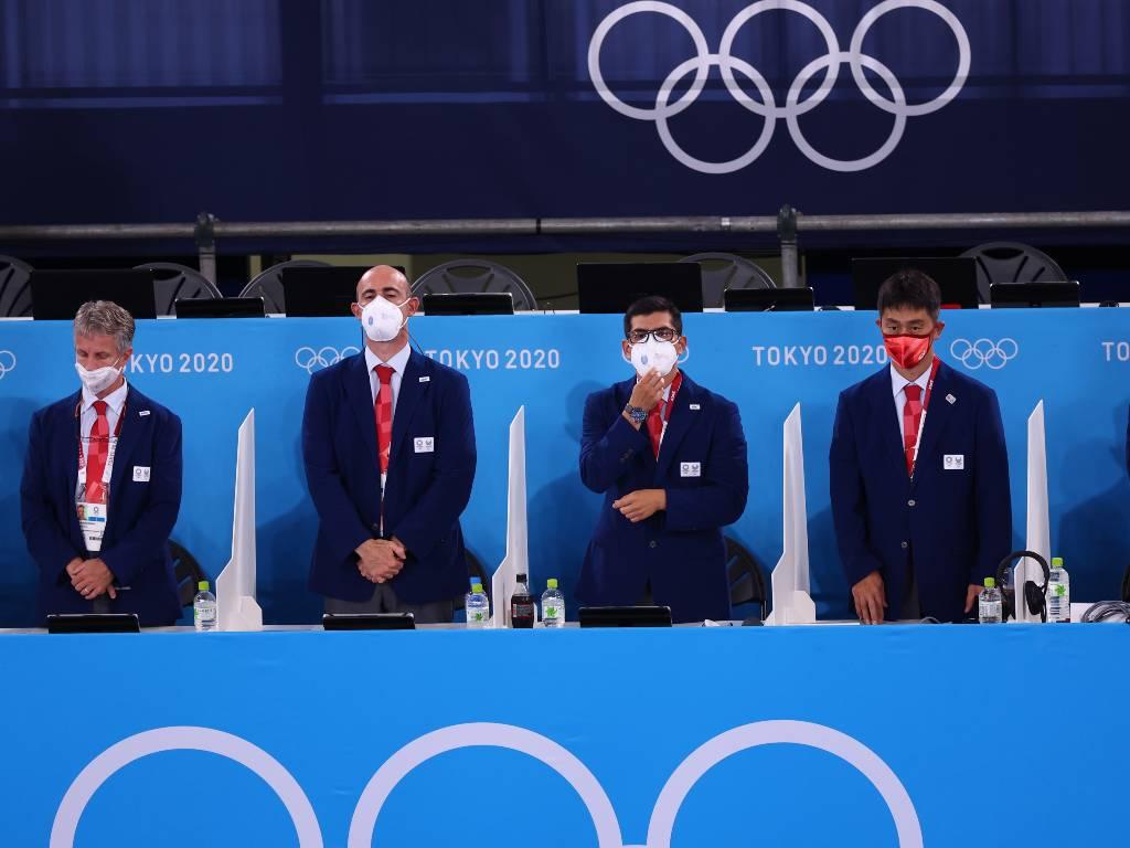 jueces olímpicos