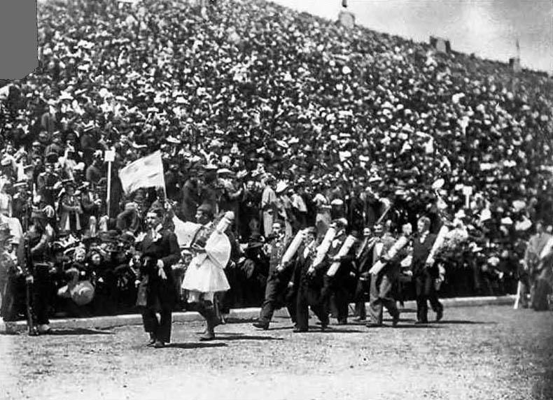 Spiridon Louis en la ceremonia de clausura de Atenas 1896   Business Insider Mexico