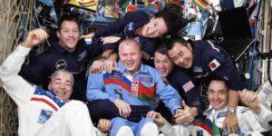 Así fueron las primeras 'Olimpiadas espaciales' no oficiales a bordo de la Estación Espacial Internacional