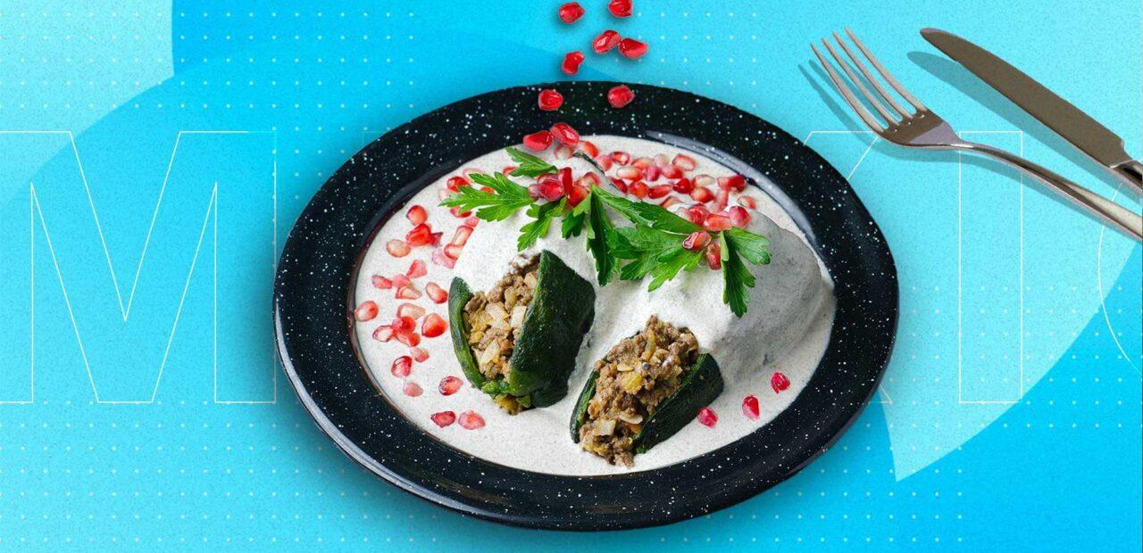 receta del chile en nogada | Business Insider Mexico
