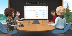 Facebook da su primer paso al 'metaverso' con app de trabajo remoto en realidad virtual