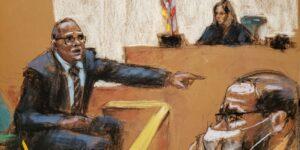 El exmanager de gira de R Kelly se vio obligado a testificar y describió cómo le dijeron que Aaliyah, de 15 años, estaba embarazada