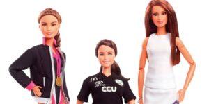 Paola Espinosa, Francisca Mardones y Paola Longoria tienen su propia muñeca Barbie —es la primera vez que retratan a atletas de Latinoamérica