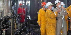 Pemex espera restablecer su producción el próximo 30 de agosto, tras explosión en plataforma de Ku-Maloob-Zaap