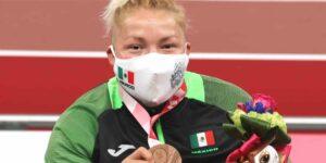 Rosa María Guerrero gana medalla de bronce en lanzamiento de disco —es la segunda presea para México en Paralímpicos de Tokio 2020
