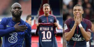 RANKING: los 10 fichajes de futbolistas más caros en la historia