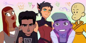 Los personajes LGBTQ de color hacen historia en la animación, pero los creativos de color no pueden escapar de la discriminación que se vivió en la industria