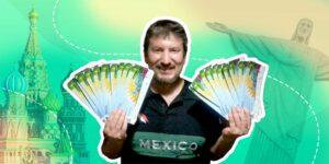 """Conoce a Iván """"Ivanovich"""" Estrada, el aficionado de la Selección Mexicana de Futbol que ha ido a 4 Mundiales seguidos"""