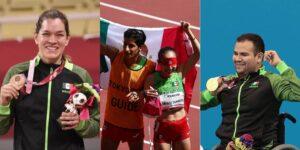 Todos los atletas mexicanos que han ganado una medalla en los Juegos Paralímpicos de Tokio 2020