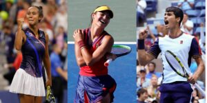 3 adolescentes se están robando el reflector en el US Open